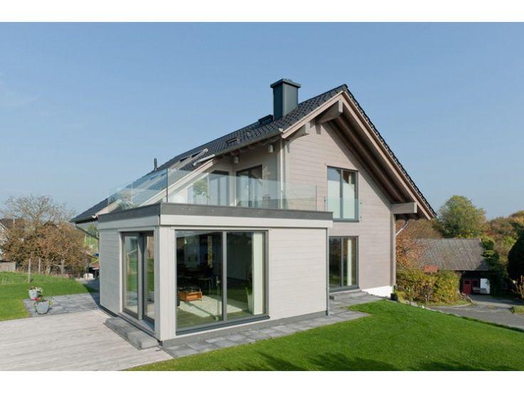 Haus bauen modern satteldach  144 besten Fertighaus Bilder auf Pinterest | Grundrisse ...