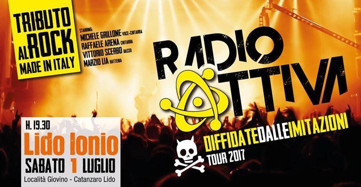 Un nuovo appuntamento con i RadioAttiva ed il meglio del rock italiano! Musica tosta per gente tosta... preparatevi a fiumi di adrenalina, riff cazzuti e chitarre distorte!