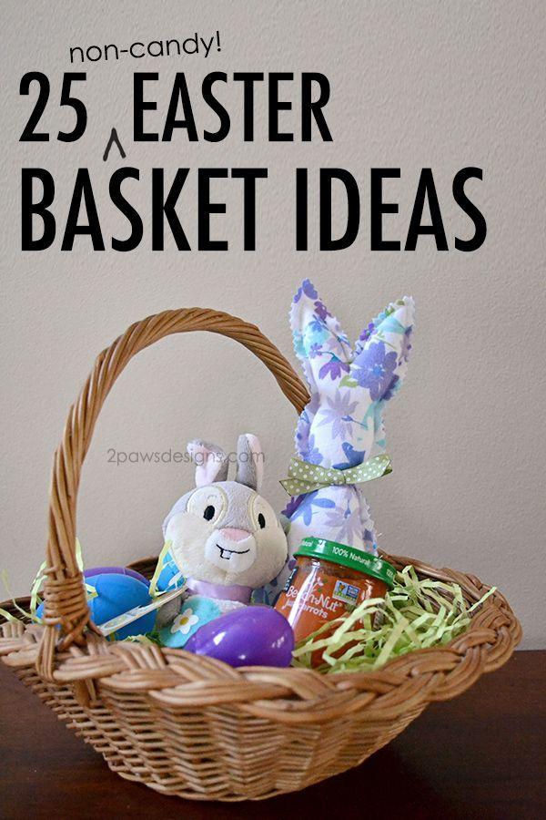 18 best diy tulle easter baskets images on pinterest easter over 25 non candy easter basket ideas for kids negle Images