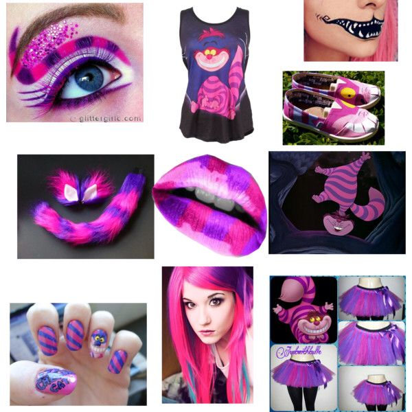 where all mad here cheshire cat costume - Cat Outfit For Halloween