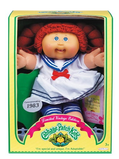 Cabbage Patch Kids! My mom never let me take it out of the box to play with it, she said it would be worth alot of money one day!