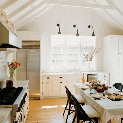 Smitten Design: Kitchen Lighting Details   Love The Mix Of Modern  Appliances With A Rustic