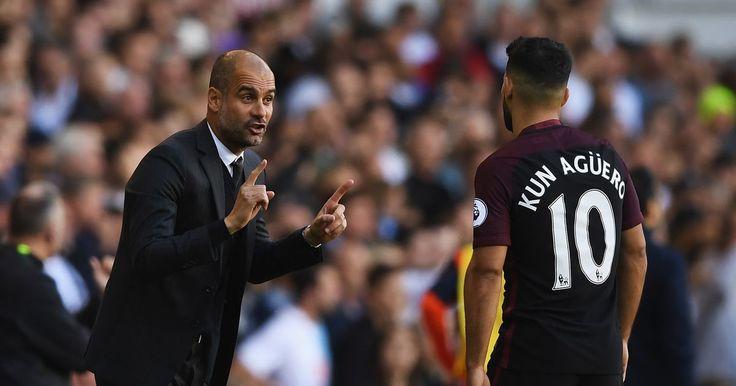 Man City boss Guardiola has made Sergio Aguero world class - Manchester Evening News