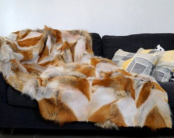 Red Fox Blanket Throw!