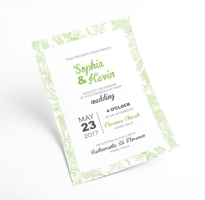 Wuava Wedding Invitations Burlington Ontario The