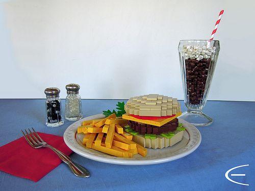 #LEGO Diner Fare 2