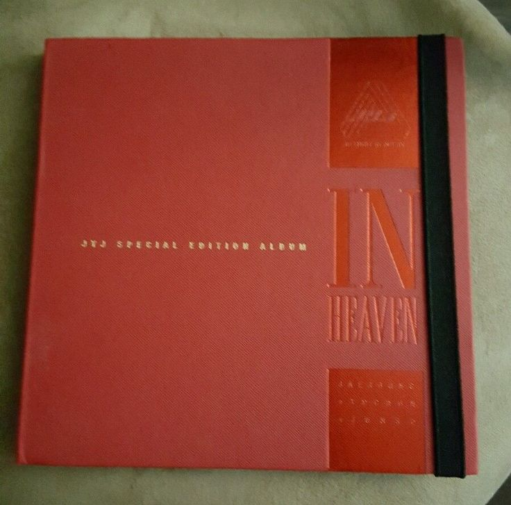 Out of Print Special Edition JYJ In Heaven Album CD DVD Kpop