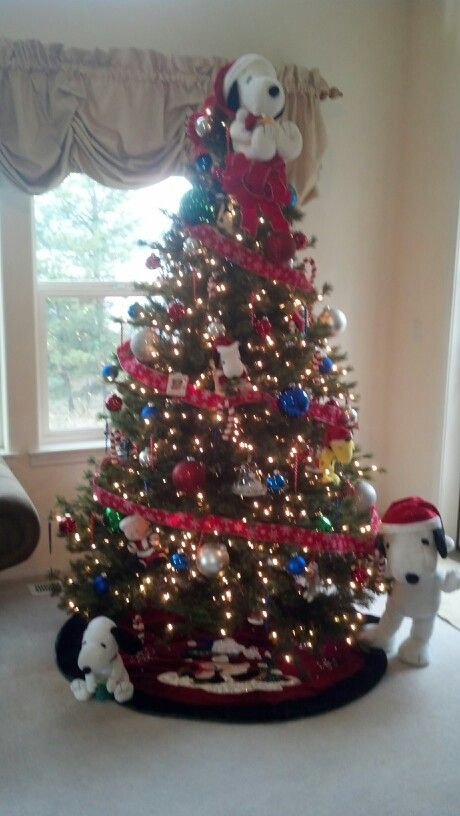Peanuts Christmas Tree | A Charlie Brown Christmas | Pinterest ...
