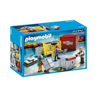 PLAYMOBIL® Ouvriers avec marchandises réf.5259-product