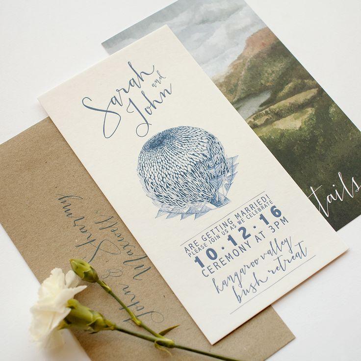 Wedding set invitations paperlust design paper print paper stationery
