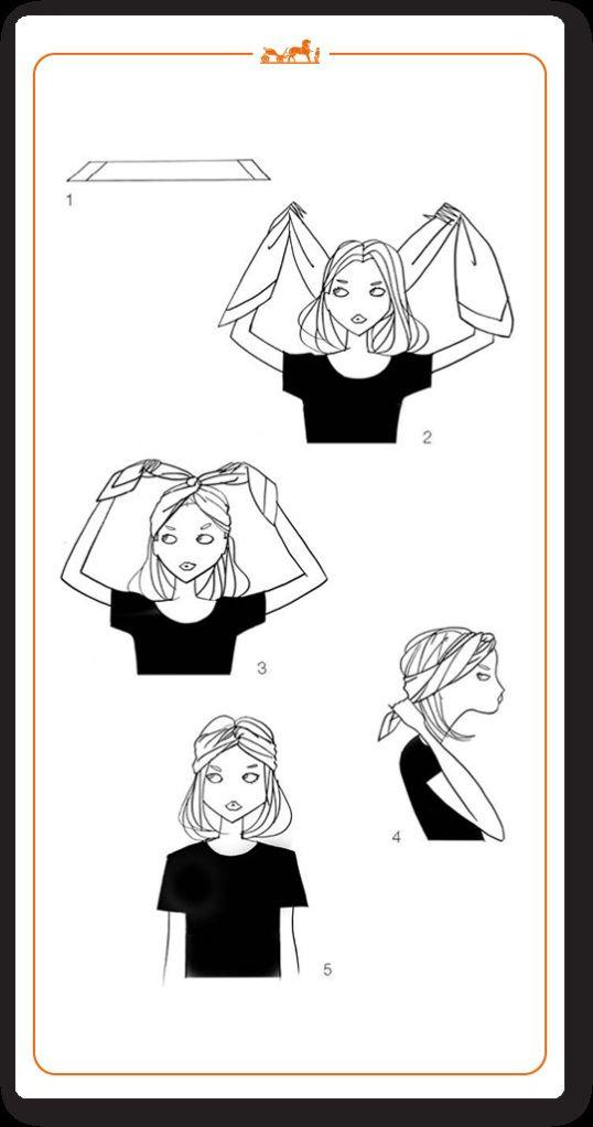 nouer foulard cheveux