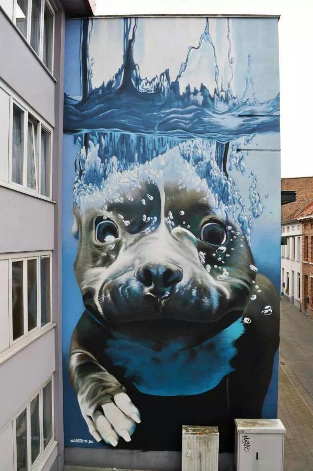 B-) #art #streetart #cool