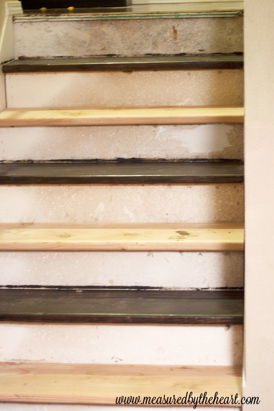 How to install hardwood stairs - Measured by the Heart