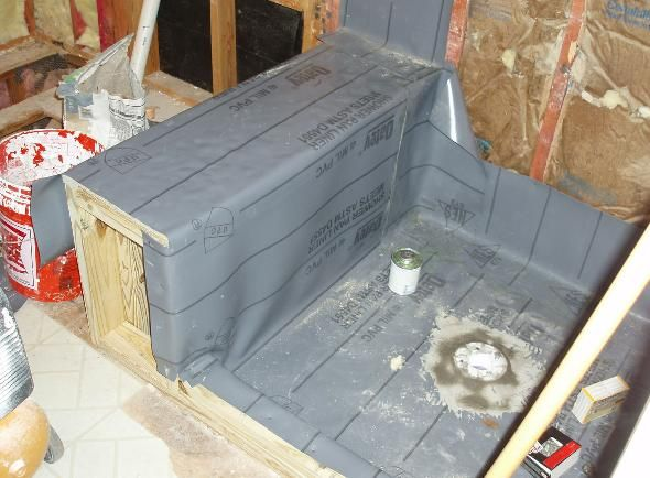 Build A Shower Pan | How To Build A Shower Pan. Bathroom ...