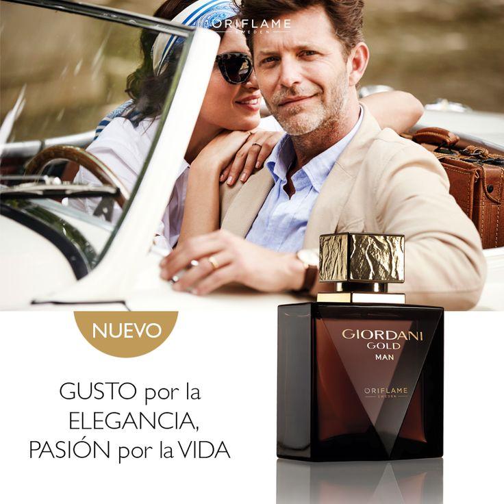 Una icónica fragancia que representa la sofisticación y el carisma del hombre que aprecia las cosas buenas de la vida. #Hombres #Pasión # Perfume #Aventura #Maderas #Fragancias #OriflameMx