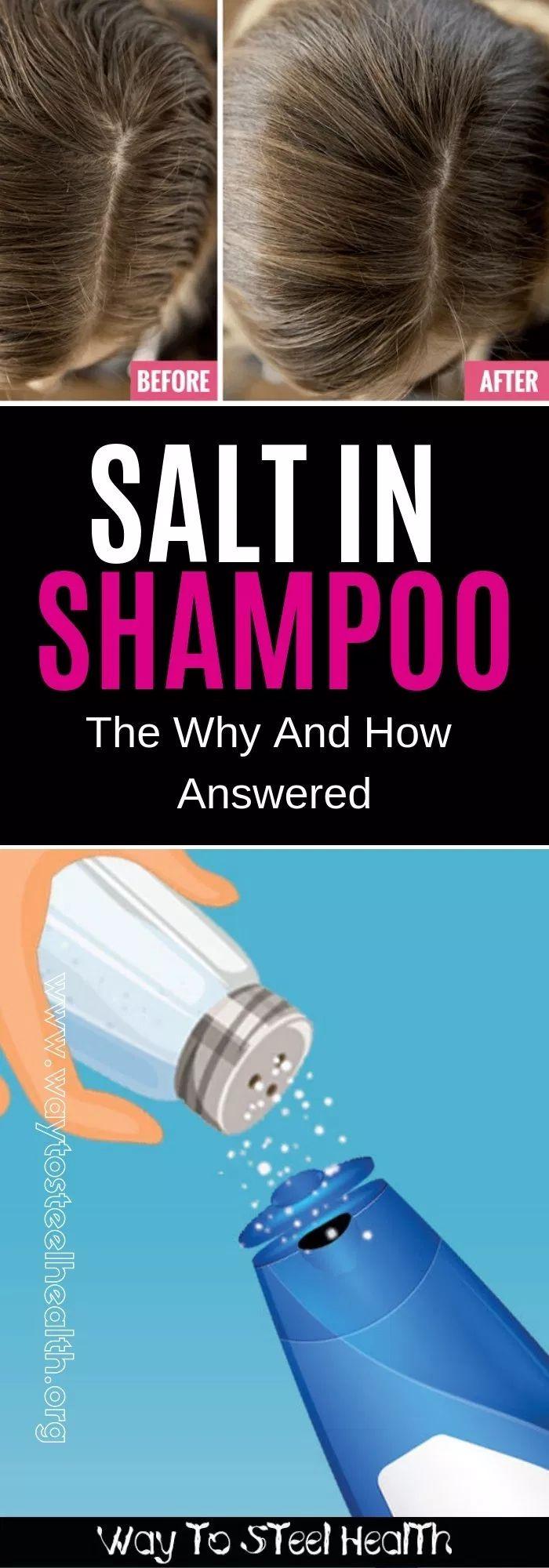 Salt in Shampoo The Why and How Answered Shampoo