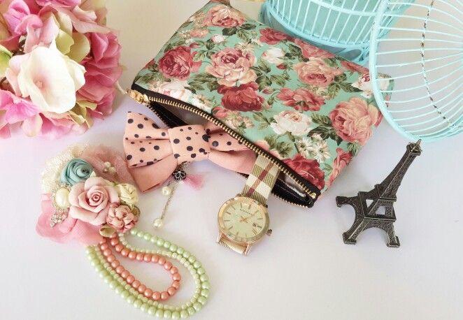Floral pouch