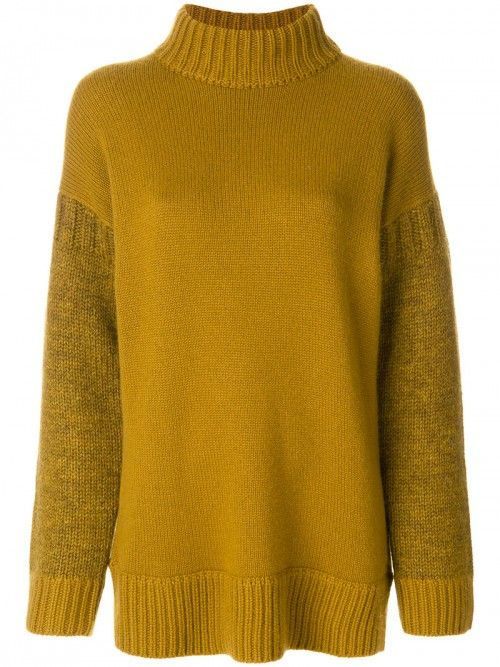 Pringle+Of+Scotland+Block+Colour+Roll+Neck+Jumper+Women+Cashmere+Wool+Cashmere+Wool+|+Dress+and+Clothing