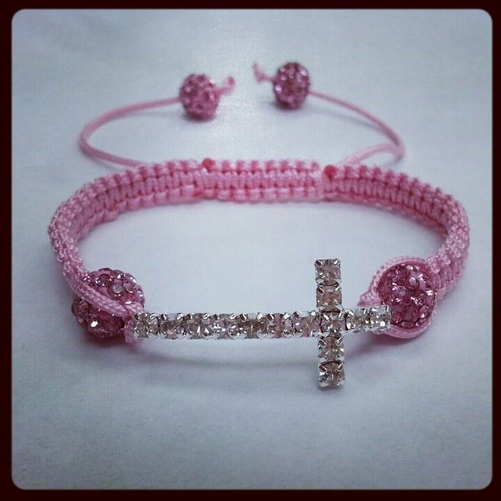 #cross #communion #christening #baptism #gift #bracelet #elegant #classy