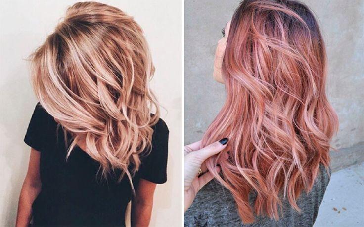 Move over smokey lila, dé haarkleur die we dit najaar allemaal dragen is rose gold. De kleur was al enorm populair bij juwelen en smartphones, maar binnenkort zal rose gold ook de meest geïnstagramde haarkleur zijn.