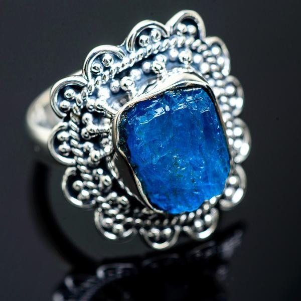 Blue Flourite Ring