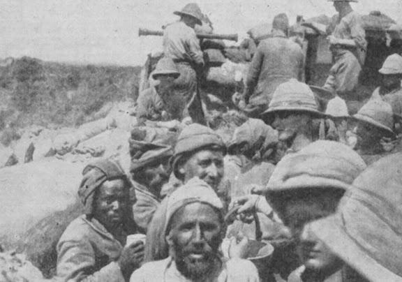 Turkish Prisoners In Gallipoli