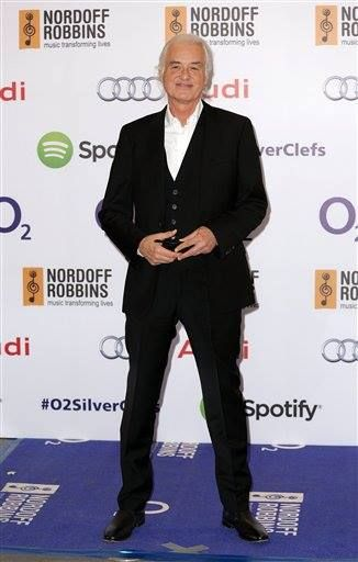 Jimmy Page at the Nordoff Robbins Silver Clef Awards, London, Britain - 04 Jul 2014