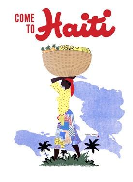Haiti Travel Poster