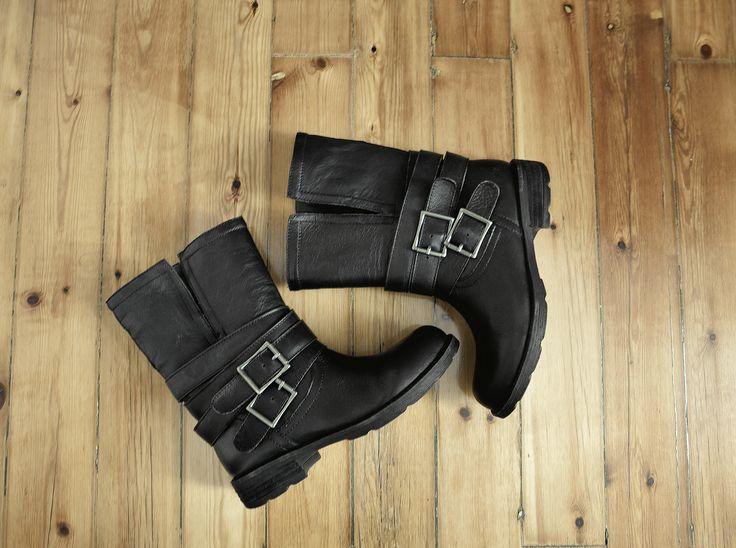 Always in fashion #fred #biker #boots www.keepfred.gr
