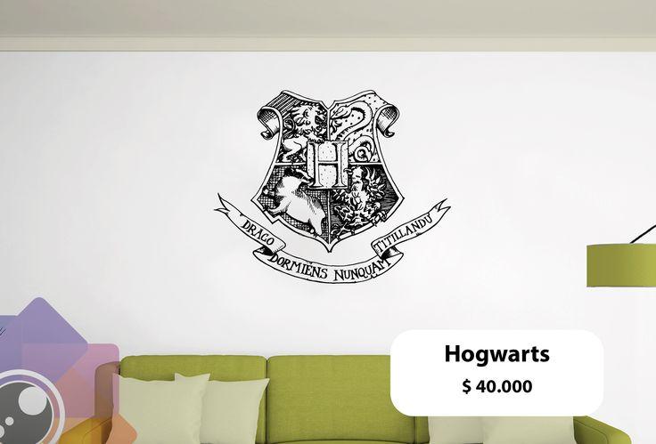 Vinilo Escudo de Hogwarts