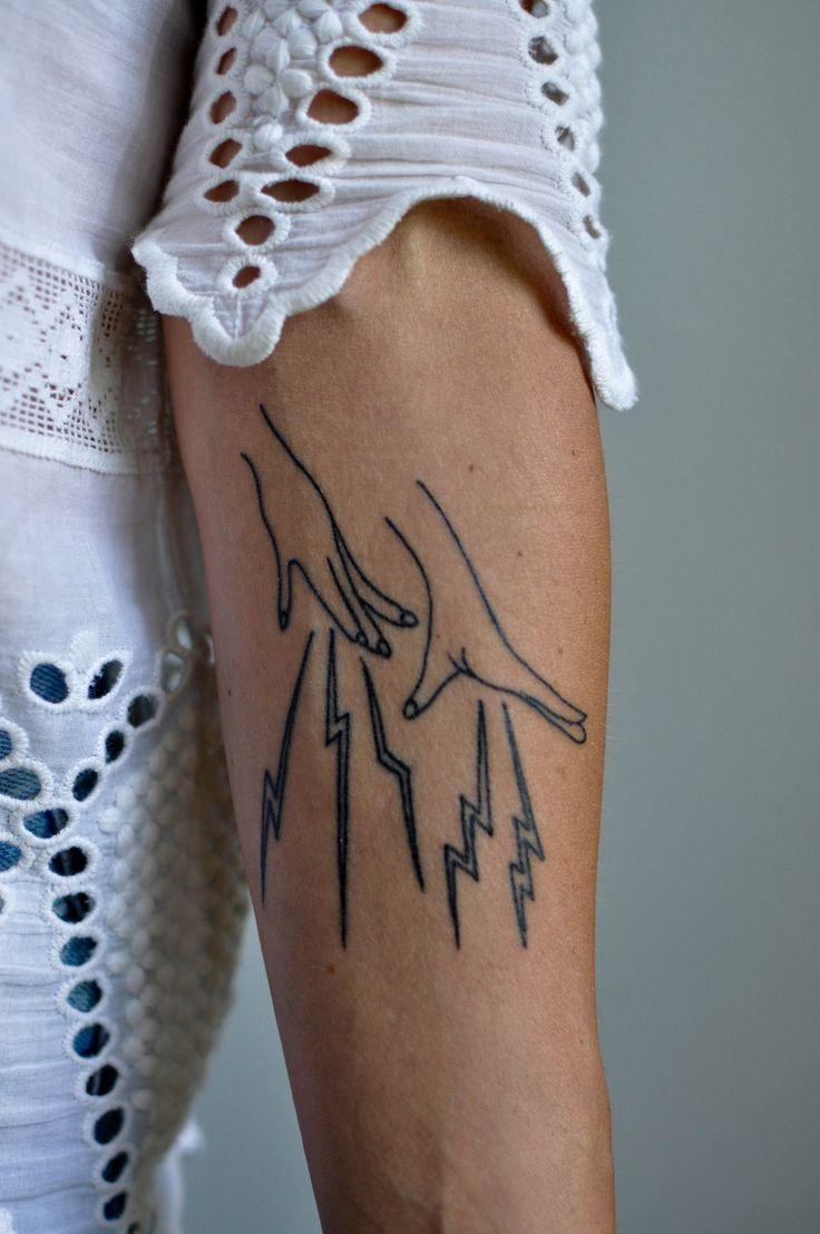 Lightning Bolt Tattoo: Best 25+ Lightning Bolt Tattoo Ideas On Pinterest