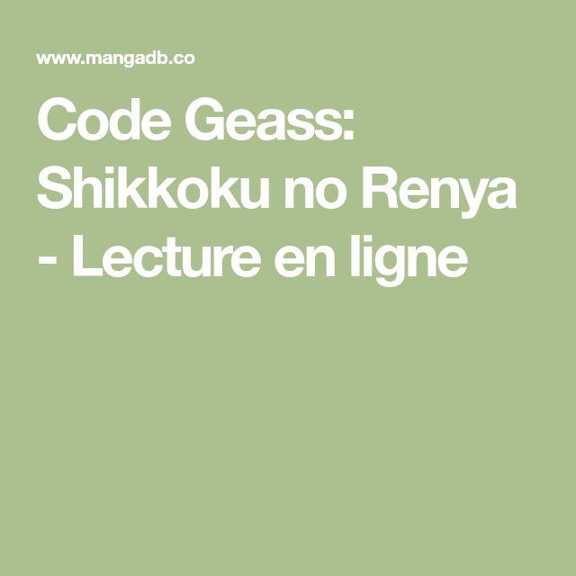 Code Geass: Shikkoku no Renya - Lecture en ligne