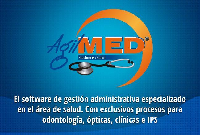 #AgilMED es el software de gestión en salud con módulos administrativos, contables y especializados para ópticas, clínicas, odontología e IPS | #Software #Salud #Opticas #Clinicas #Odontologia | http://www.sydicol.com.co/