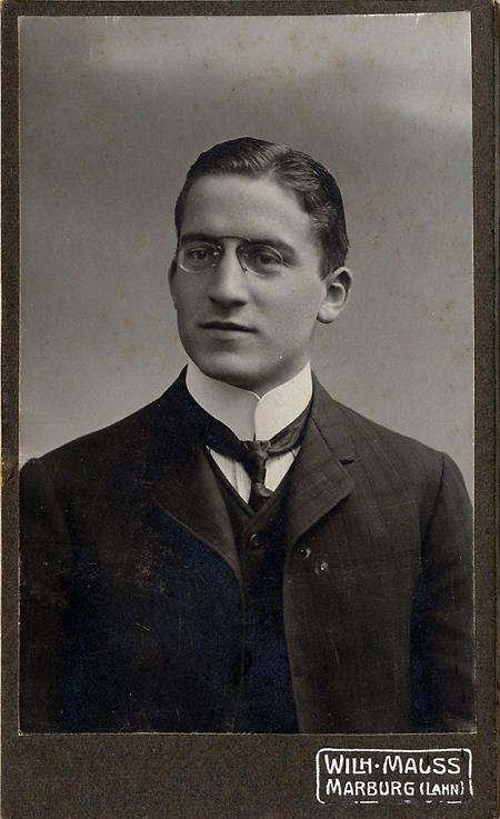 Marburger Medizinstudent, September 1907