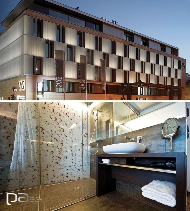 Los mejores proyectos  El Saks Urban Design Hotel en Alemania, combina un diseño vanguardista con productos de primera calidad en su construcción. La colección Nanocorten de Apavisa aporta exclusividad y distinción a estos espacios.  Apavisa exclusivo en Productos Arquitectónicos www.p-a.com.co