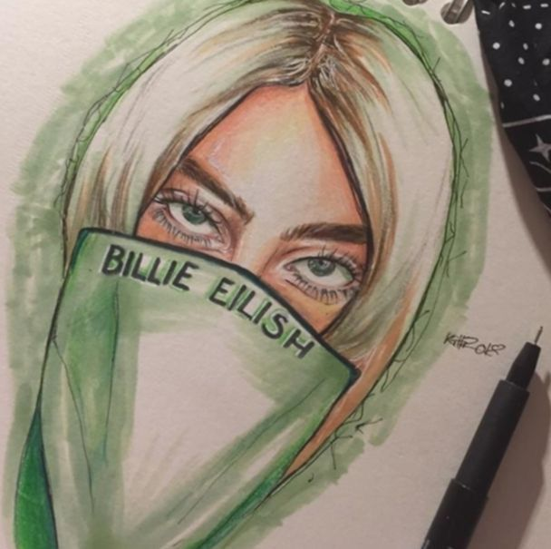 Pin By Trinity Michele On Artsy With Images Billie Eilish