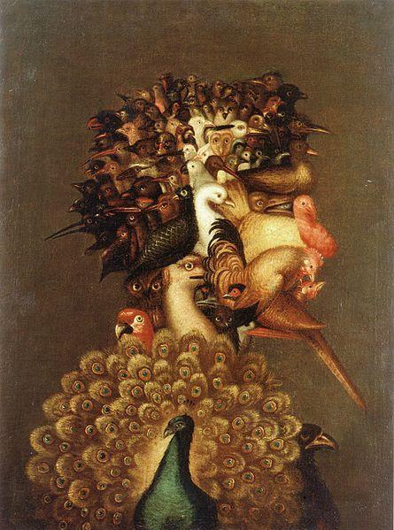 Giuseppe Arcimboldo - Air, 1566, Private collection, Switzerland