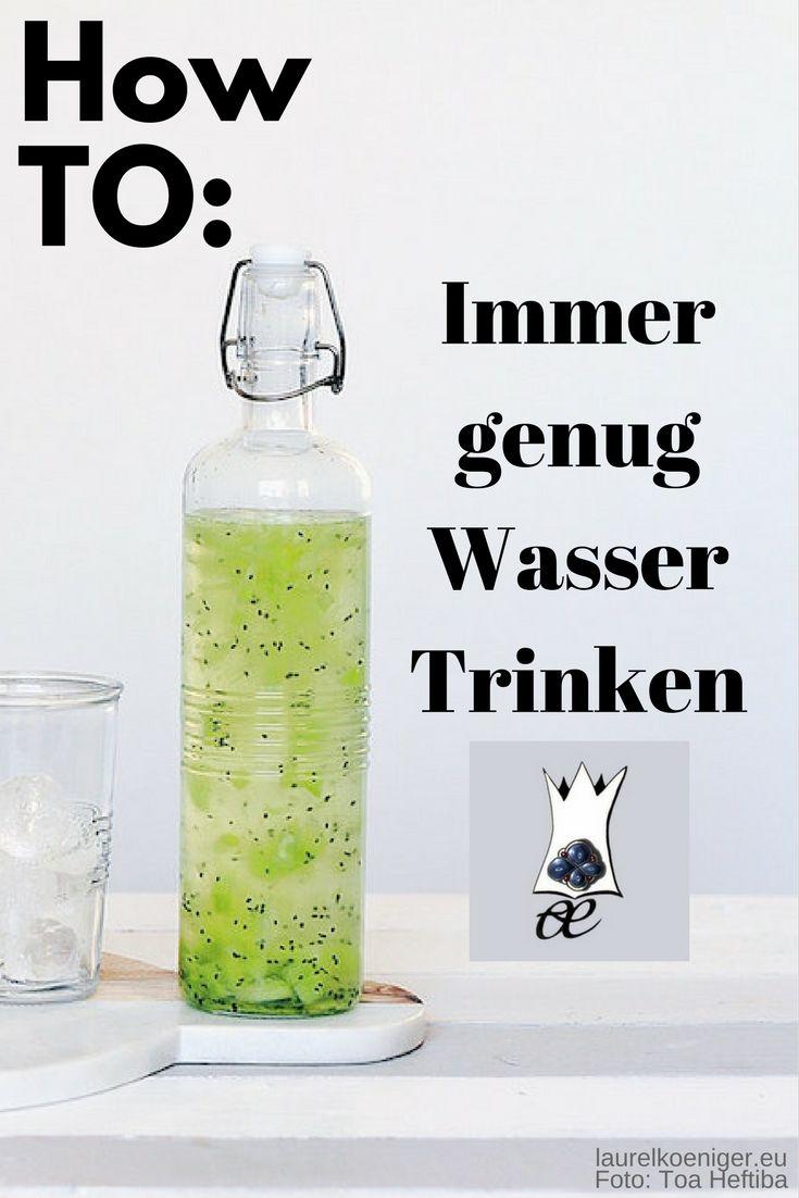 So trinkst du immer genug Wasser | Guide