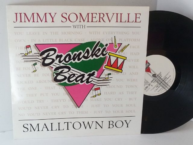 JIMMY SOMERVILLE WITH BRONSKI BEAT smalltown boy - SINGLES all genres, Including…