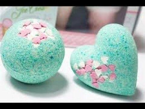 Comment faire des boules de bain #lush (sans acid citrique)