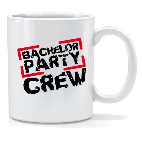Tazza personalizzata Bachelor party crew 2