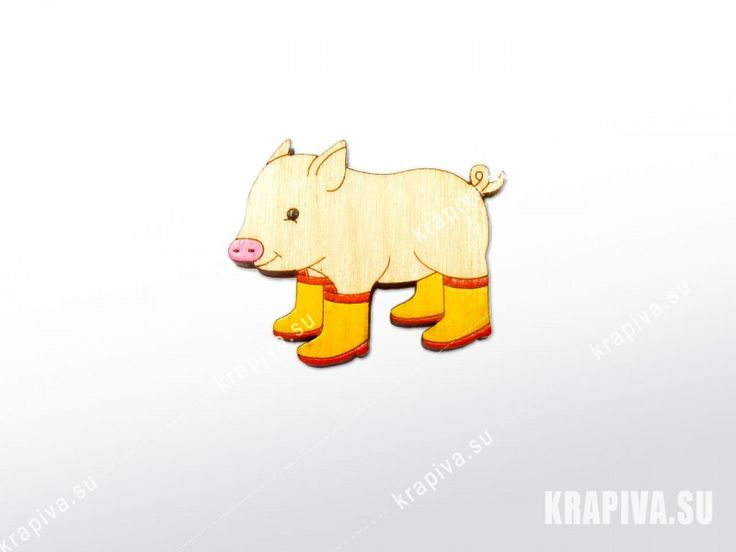Поросеночек - krapiva.su  значки, брошь, деревянный значок, значок из дерева, деревянные значки, деревянная брошь, ручная работа, handmade, brooch, pin, pig, поросенок