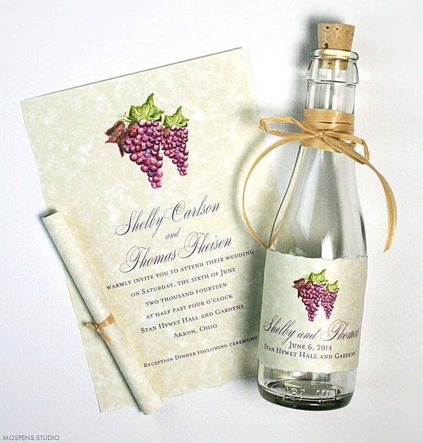 Best 25 Winery Wedding Invitations Ideas On Pinterest