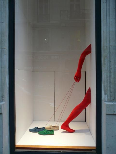 Five Creative Store Displays Using Mannequin Legs to Sell Clothes & Shoes…