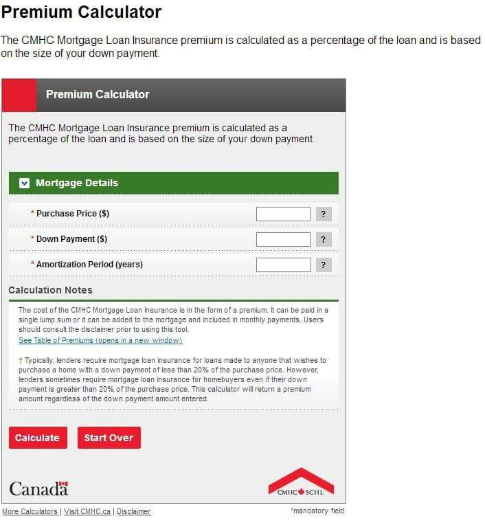 #Mortgage #DefaultInsurance Premium #Calculator If you are providing less than 20% #downpayment a default insurance premium will have to be paid. Find out how much by using the #CMHC mortgage default insurance premium calculator. http://trusterramortgage.com/tools-and-resources/mortgage-default-insurance-premium-calculator
