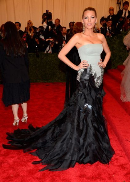 Blake Lively  2013 Met Gala in New York May 6 2013