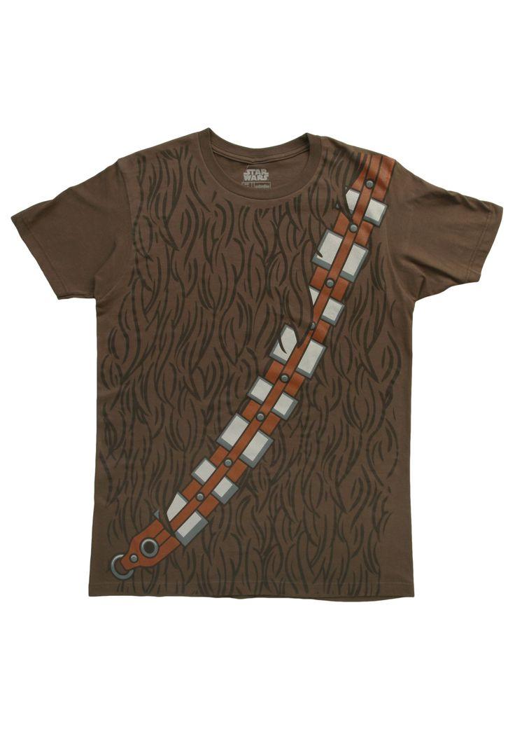 Mens I Am Chewbacca Costume T-Shirt