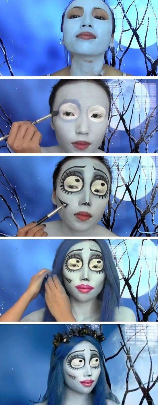 Maquillaje de la novia de Jack