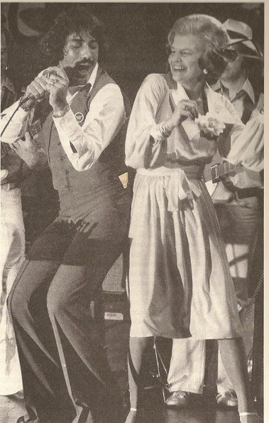 OK, not the 60s, the 70s, but the first dance I ever did with my husband, the night I met him at a party, to Barry White, singing Can't Get Enough of Your Love.  Tony Orlando dances the Bump with Mrs. Ford at the 1976 Republican National Convention.  We loved Tony Orlando and Dawn.