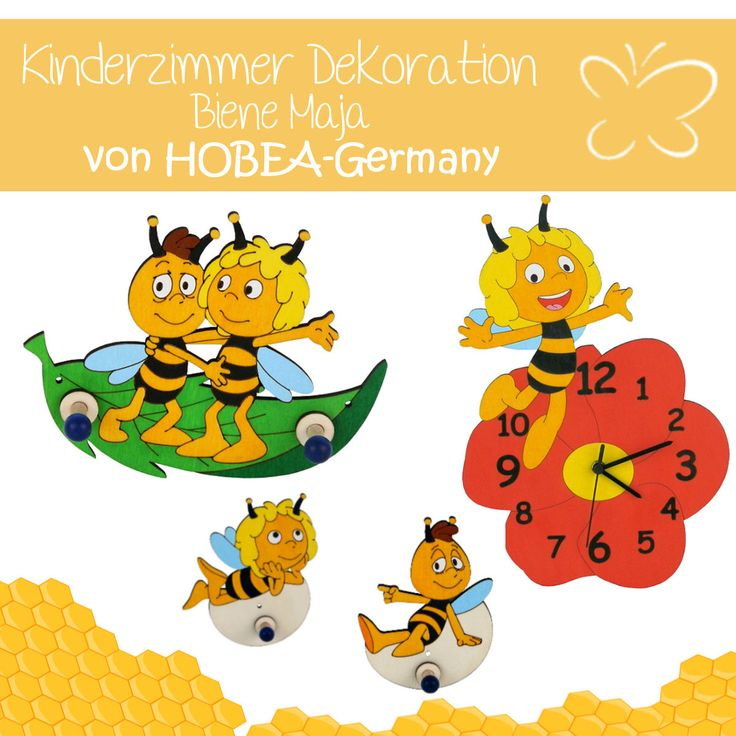 7 best biene maja produkte kinderzimmer hobea images on pinterest bees deutsch and germany. Black Bedroom Furniture Sets. Home Design Ideas